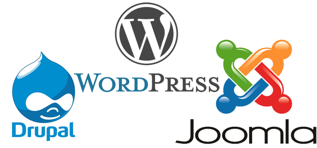 Drupal joomla wordpress comparison
